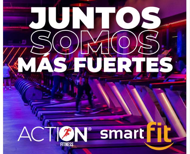 Los gimnasios de Action Fitness, en Colombia, pasan a ser franquicias de Smart Fit