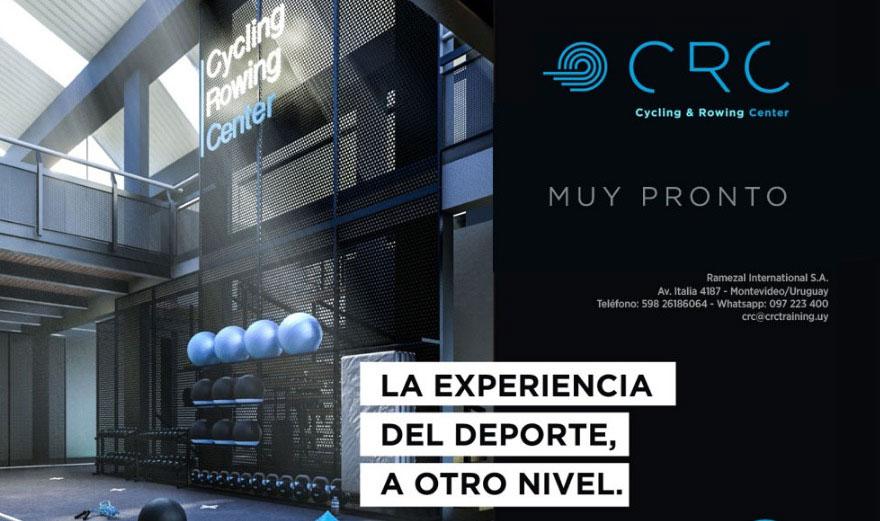 El 16 de agosto se inaugura Cycling & Rowing Center (CRC) en Montevideo