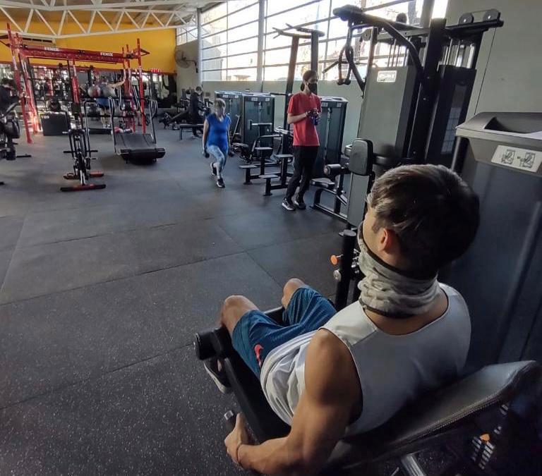 Energym, de Godoy Cruz, Mendoza, renovó su sala de musculación