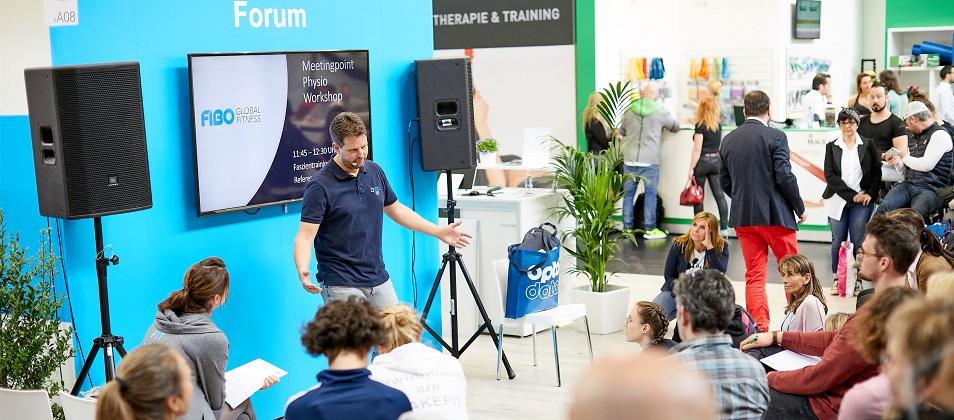 Feria Internacional de fitness, wellness y salud FIBO 2022, en Cologne, Alemania
