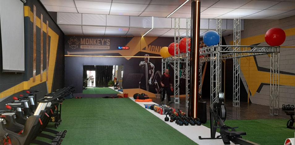 En agosto se reinaugura el gimnasio Monkey's en Carlos Paz, Córdoba