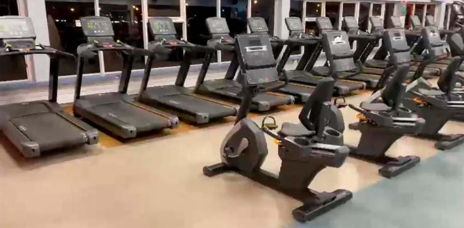 El gimnasio Perfil, de Río Grande, renovó su equipamiento con Matrix