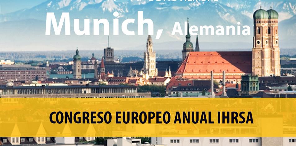 IHRSA realizará su congreso europeo en Múnich en noviembre