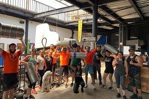En México organizan clases de Cross Beer y Beer Yoga