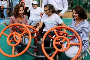 Inaugura gimnasio inclusivo en México