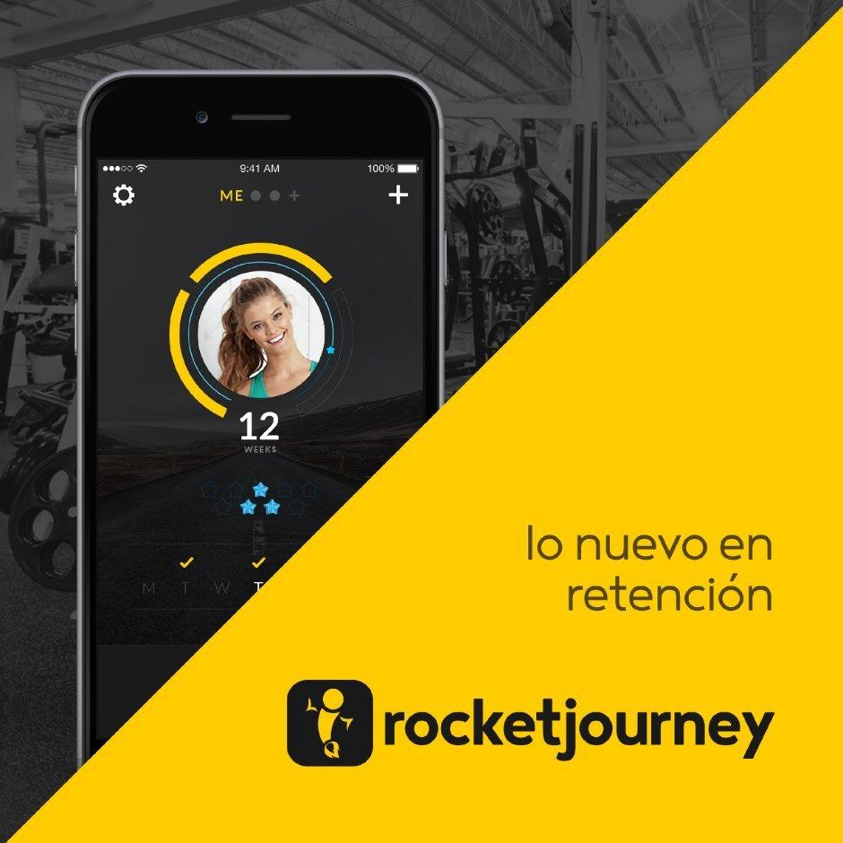 Lanzan RocketJourney, una aplicación para formar el hábito de entrenar