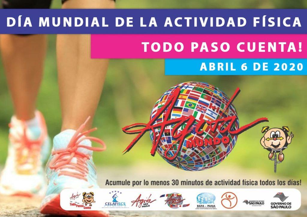 RAFA-PANA invita a celebrar el día de la actividad física el 6 de abril