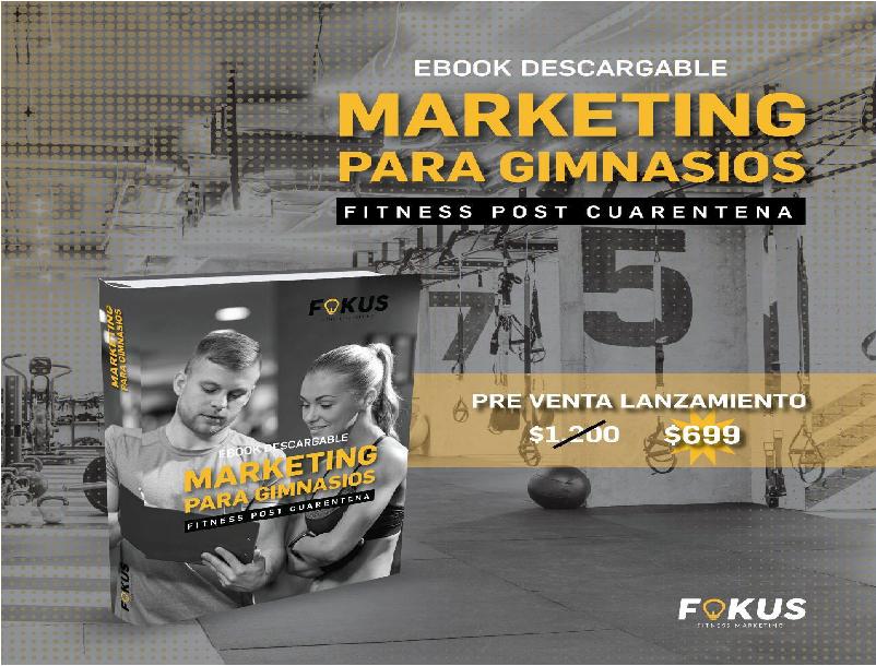 """La agencia Fokus presentó el e-book """"Marketing para gimnasios"""""""