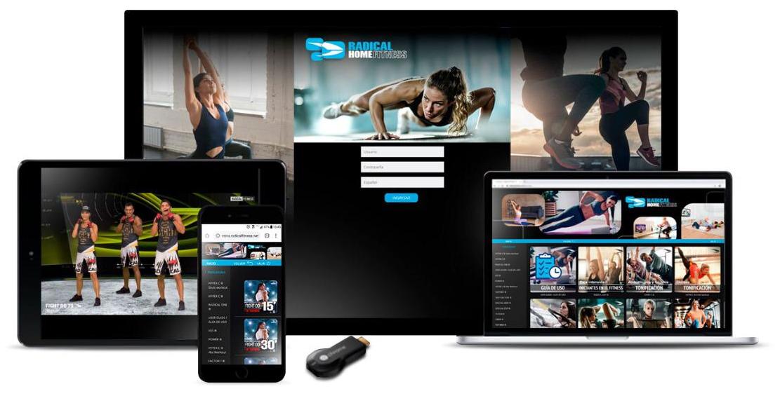 Radical Fitness presentará cuatro soluciones digitales para gimnasios