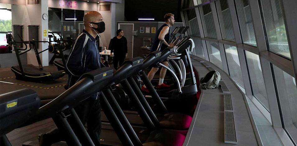 Los gimnasios del Reino Unido mantienen bajo control al COVID-19 dentro de sus instalaciones, según ukactive