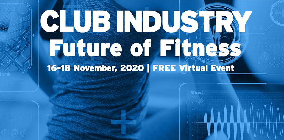 Del 16 al 18 de noviembre se realiza el evento virtual Future of Fitness, impulsado por Questex, Sibec y Club Industry