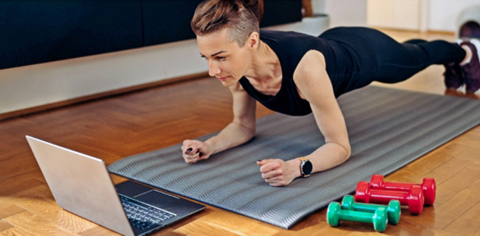 El fitness online pasó del puesto 26 a encabezar el ranking de tendencias 2021, que elabora anualmente el ACSM