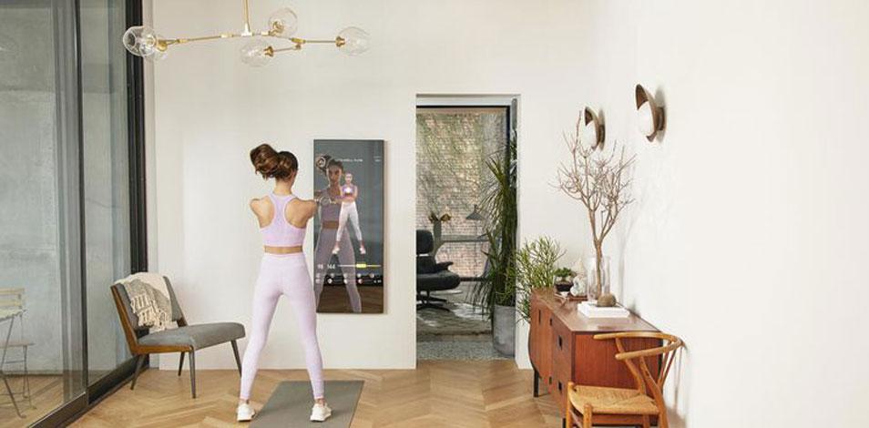 Un mat de yoga inteligente, un muro interactivo y un espejo que funciona como personal trainer, lo destacado de CES 2021