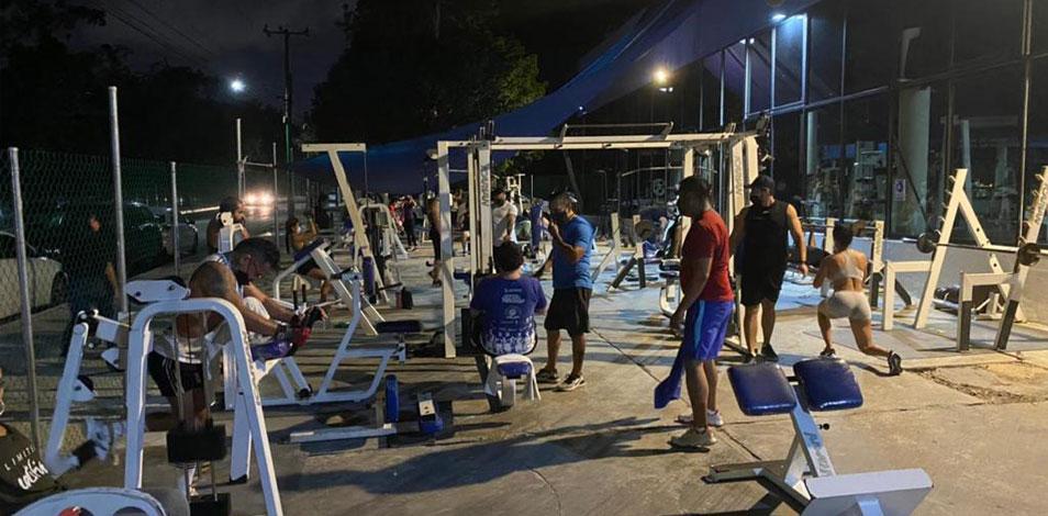 Reabrieron los gimnasios en Quintana Roo con un aforo del 50 por ciento