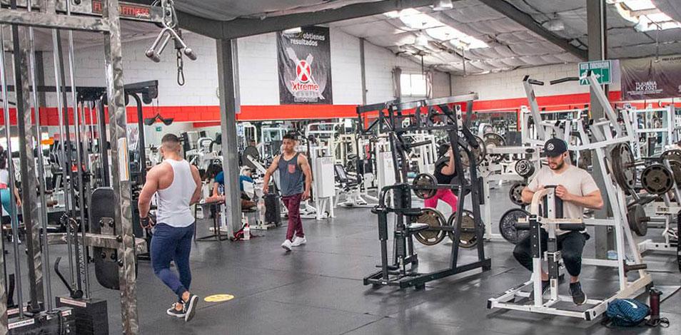 Los gimnasios de Baja California reducen su aforo a un 50%