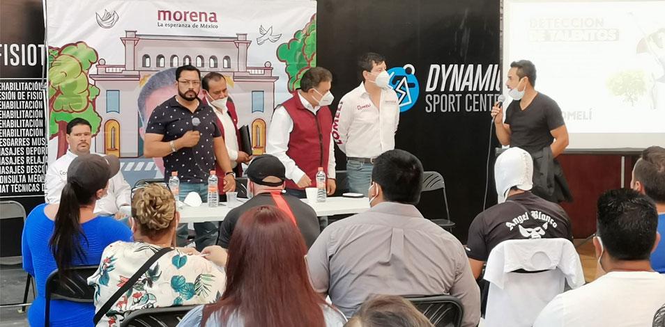 La Unión de Gimnasios de Jalisco se reunió con un candidato