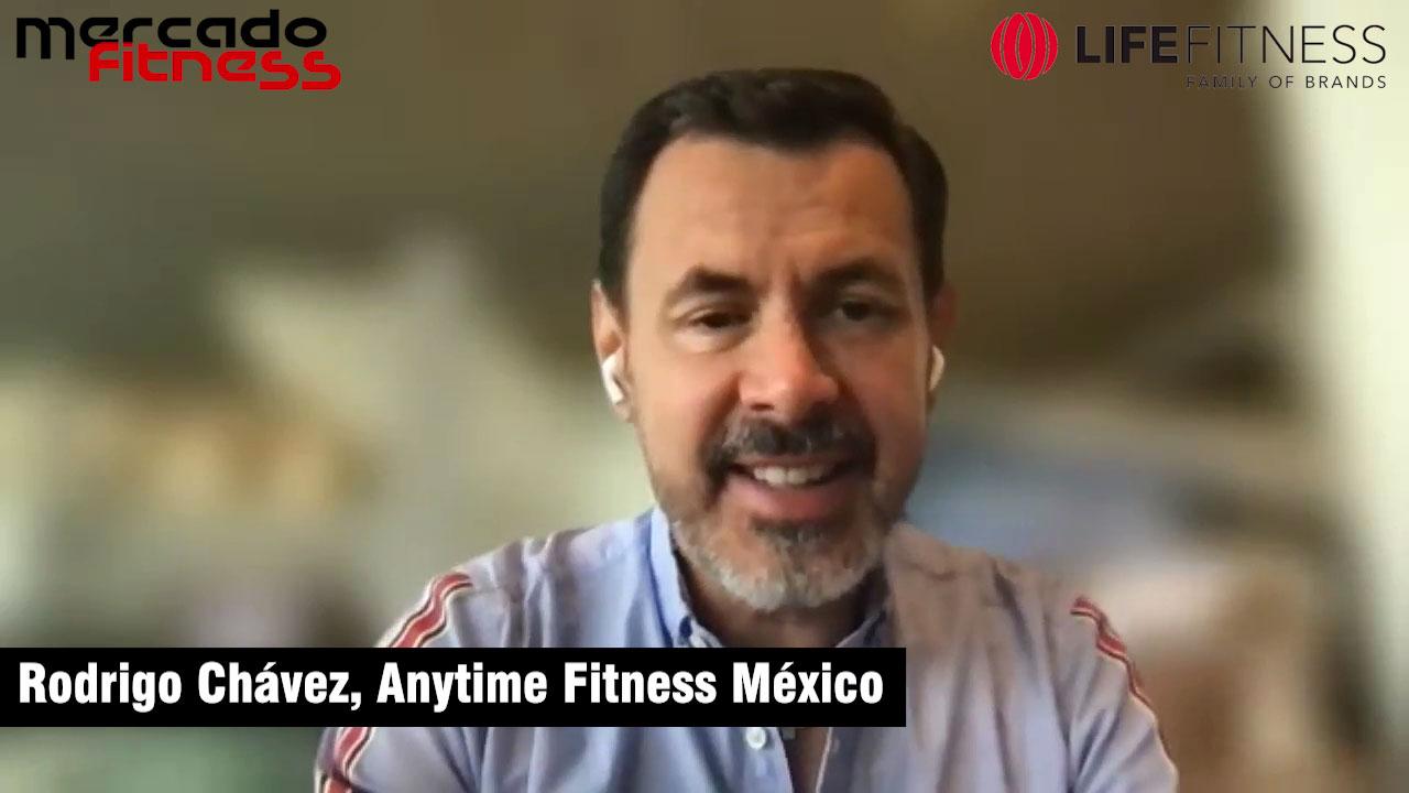 """""""Los modelos híbridos van a ser el futuro"""", dice Rodrigo Chávez, de Anytime Fitness"""